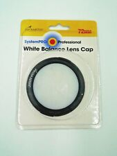 White Balance Lens Cap 72mm
