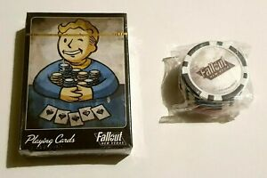 Fallout New Vegas | Playing Cards & Poker Chips | PS3/XBOX 360 CHEAPEST ON EBAY!