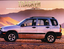 2001 Chevrolet Tracker 16-page Product Information Guide Brochure - Geo