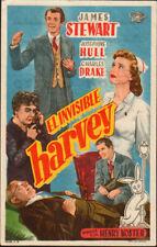Harvey Original Spanish Movie Herald 1952     James Stewart