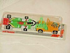 """Majorette Vintage 300 Série Willys Jeep + F1 Set 318 Emballage D'Origine """" Fermé"""