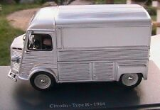 CITROEN TYPE H 1964 TOLE UNIVERSAL HOBBIES 1/43 TOLE SILVER EDITIONS ATLAS