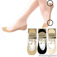 8 Pairs Ladies Invisible Socks Shoe Liners Low Banding Socks Silicone SO04