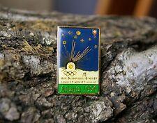 Jeux Olympiques D'Hiver 1948 St Moritz Suisse Atlanta 1996 1992 Pin Pinback
