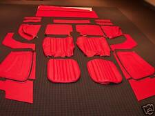 Beautiful  Deluxe Bright Red Leather MG TF MGTF 1250 1500  Interior kit ** NEW