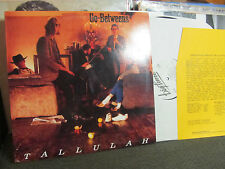 TALLULAH THE GO-BETWEENS LP US BIG TIME '87 original NM w/letter PROMO rare! WLP