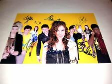 """SKINS CAST X6 PP SIGNED POSTER 12""""X8"""" inch SEASON 3 / 4 NAOMI EMILY COOK EFFY"""
