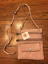 L1 Quality Leather Products C-13 Light Beige Purse Handbag