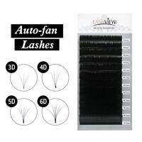 Lashview New 1's Fast Fan Eyelash Extensions Auto-fan Blossom Volume Eyelashes
