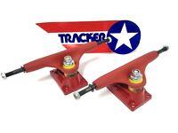 "Vintage Tracker Sixtrack Ultralight RED 9"" Skateboard Trucks NEW Powell Peralta"