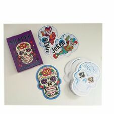 Candy Skull Shaped Playing Cards,Standard Size, Día de Muertos, Games