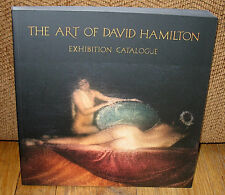 New SIGNED David Hamilton The Art of Numbered Limited Exhibition Catalogue PB