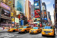 STUNNING NEW YORK CITYSCAPE TIMES SQUARE CANVAS #433 CANVAS PICTURE WALL ART A1