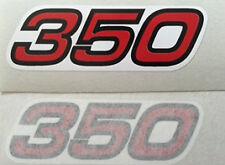 YAMAHA XT350 SIDE PANEL DECALS