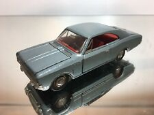 DINKY TOYS FRANCE 1405 OPEL REKORD COUPE 1900 - BLUE 1:43 - GOOD CONDITION