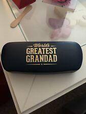 Grandad Glasses Case Blue
