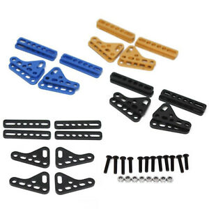 For 1/10 RC Crawler Car Axial SCX10 D90 Double Shock Absorber Adjust Plate Mount