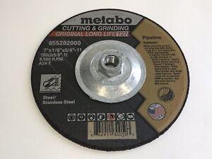 Metabo 7 in x 1/8 in A24T Type 27 Pipeline Wheel 655282000