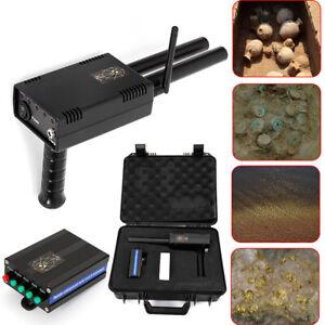 1KM Handheld Dual Probe Locator Scanner Antenne Metallsuchgerät Gold Detektor DE