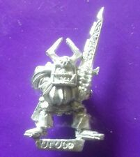 RRD5 Orco Ruglud's blindado citadel GW regimiento de renombre campeón héroe Ruglud