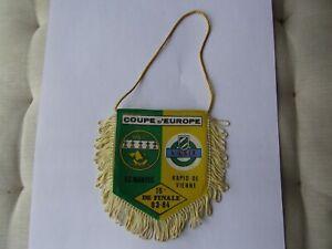 FANION VINTAGE FC NANTES - RAPID DE VIENNE CPE D'EUROPE 16 EME 1983-1984 FCNA