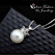 Pearl Rose Gold Plated Cubic Zirconia Fashion Jewellery