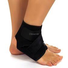 Neoprene Ankle Brace Support Stabilizer Foot Wrap Football Sports Safety OK