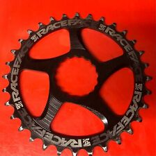 RaceFace Narrow Wide Chainring: Direct Mount, 32t, Black