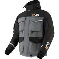 FXR Mens Black/Charcoal/Orange Excursion Ice Pro RL Jacket Snowmobile 2020