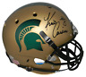 KIRK COUSINS AUTOGRAPHED MICHIGAN STATE SPARTANS FULL SIZE GOLD HELMET BECKETT