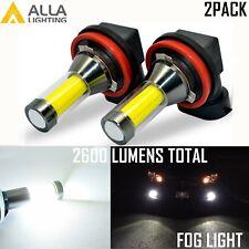 Alla Lighting 6000K H16 LED Driving Fog Light Bulb/Cornering Lamp Bright White