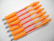 6 x Pilot G-2 0.5mm Extra Fine Retractable Encre Gel Rollerball Pens, Orange