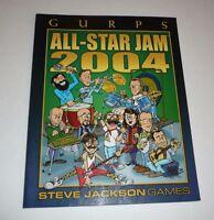 GURPS All-Star Jam 2004 Steve Jackson Games Supplement RPG Game Gaming Book