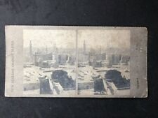Vintage Stereo-View Stereoscopic Photo: New Zealand Graphic #A3