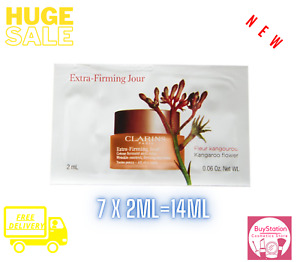 CLARINS Extra Firming Day Cream 2ML X 7=14ML All Skin Type* Brand New *