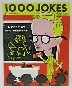 1953 Dell 1000 JOKES Magazine MR. PEEPERS - WALLY COX hi-grade