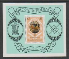 Grenada Grenadines - 1981, Royal Wedding sheet - MNH - SG MS447