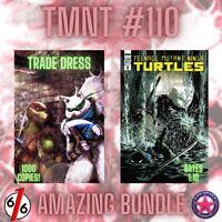 🚨🐢🔥 TMNT #110 SET OF 2 VARIANTS Hal Laren Raphael #1 Homage & Bates 1:10 NM