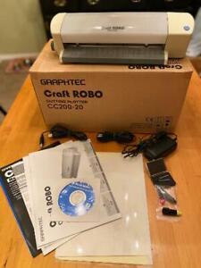 Graphtec Craft Robo Cutter/Plotter CC200-20