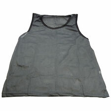 NEW SCRIMMAGE PRACTICE VESTS PINNIES SOCCER YOUTH GRAY GREY
