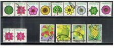 Singapore stamps -1973 Flowers & Fruits def complete set fine used