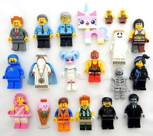NEW LEGO MOVIE - 5 RANDOM FIGURES - Lot minifig minifigure emmet wyldstyle baby