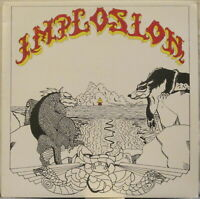 IMPLOSION s/t LP Italian Prog/Electronic/Space Rock private press RARE