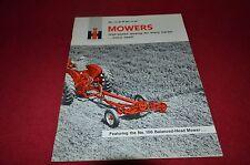 International Harvester 100 32 31 28 24 22 Mower Dealer's Brochure BWPA