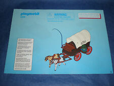 Playmobil 5248 Planwagen Bauplan Instruction plan only plan nur der Plan
