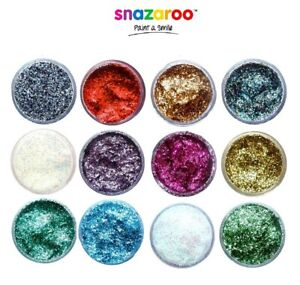 Glitter Gel Snazaroo Branded Fancy Dress Glitter Festival Face Paint Adults Kids