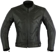 Chopper Extra Padded Leather Motorbike Protection Jacket