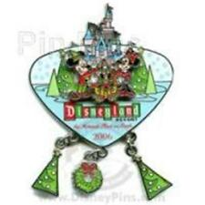 MINNIE MICKEY PLUTO CHRISTMAS DANGLE DLR MERRIEST PLACE ON EARTH 2006 LE PIN