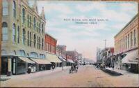Trinidad, CO 1909 West Main Street & West Block, Downtown - Colorado Colo