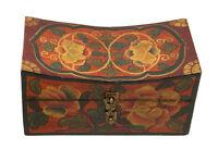 Caja De Joya Tibetano -20x11cm -artesanía- Caja Tibetana 2073 GT3